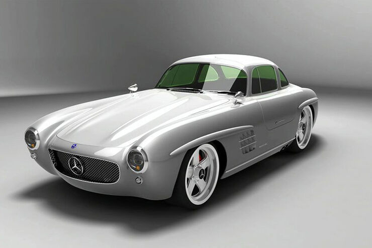 mercedes 300 sl replika mercedes fl gelt rer kehrt als. Black Bedroom Furniture Sets. Home Design Ideas
