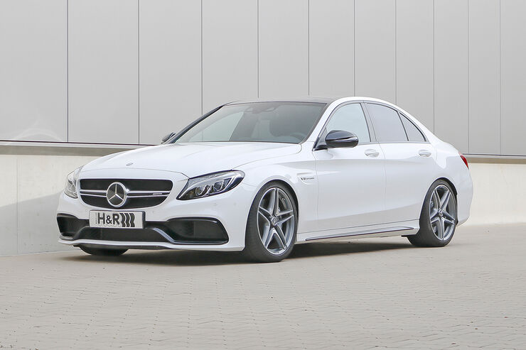 H r mercedes amg c 63 h henverstellbare federsysteme for H and r motors