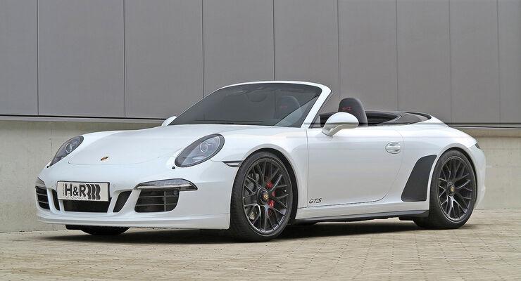 H&R Porsche 911 Carrera GTS Cabriolet