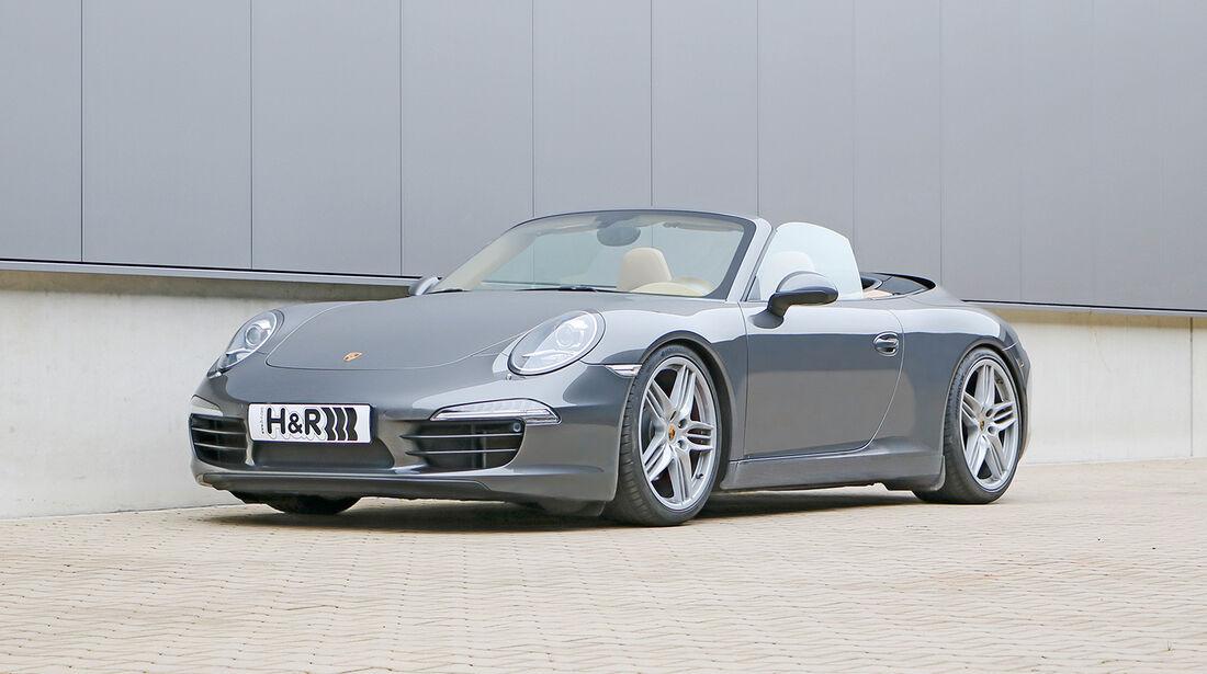 H&R Porsche 991 Carerra S Cabrio