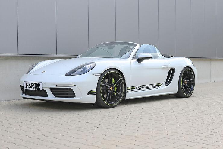 H&R Porsche Boxster