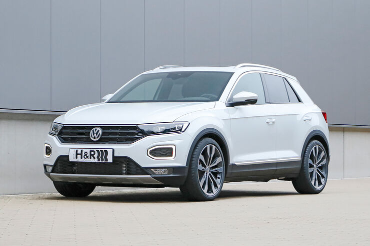 Anzeige h r vw t roc 2018 auto motor und sport for H and r motors