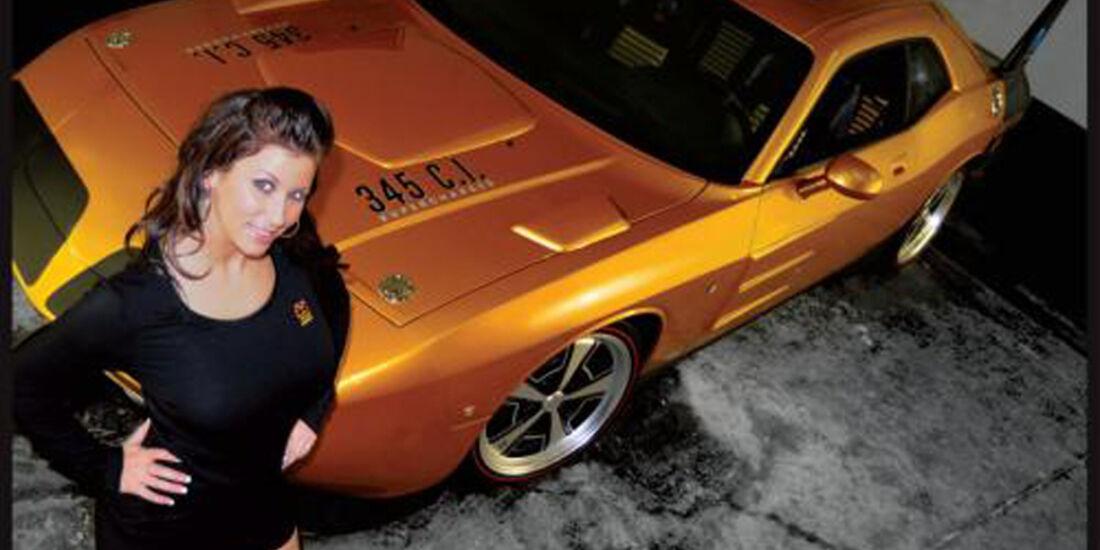 HPP Plymouth Superbird, Dodge Challenger, Mädchen, Girl
