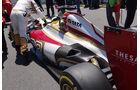 HRT Auspuff GP England 2012