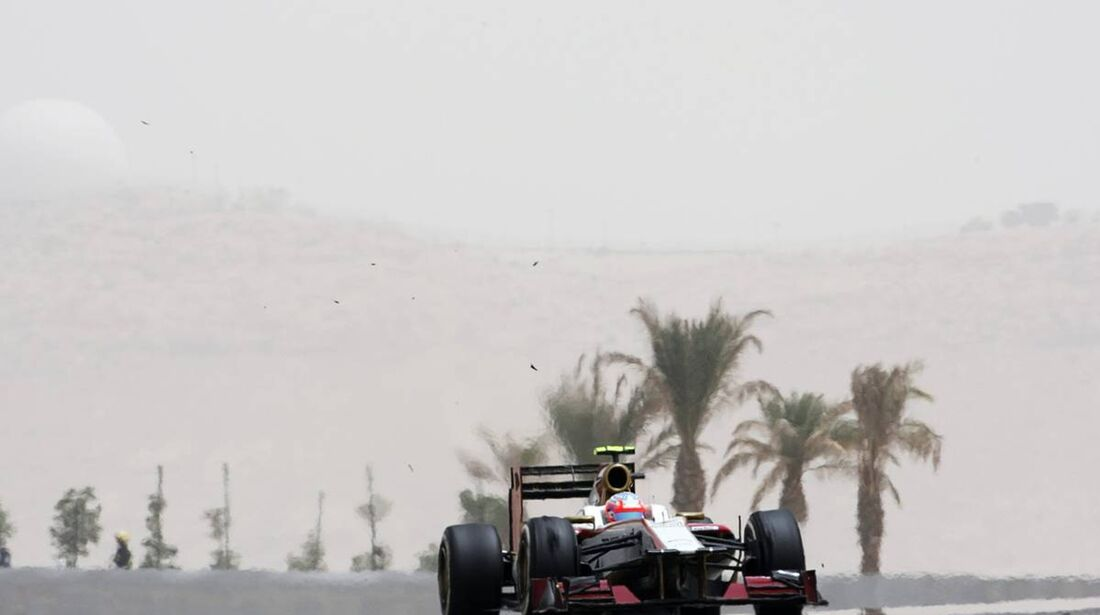 HRT - Formel 1 - GP Bahrain - 20. April 2012