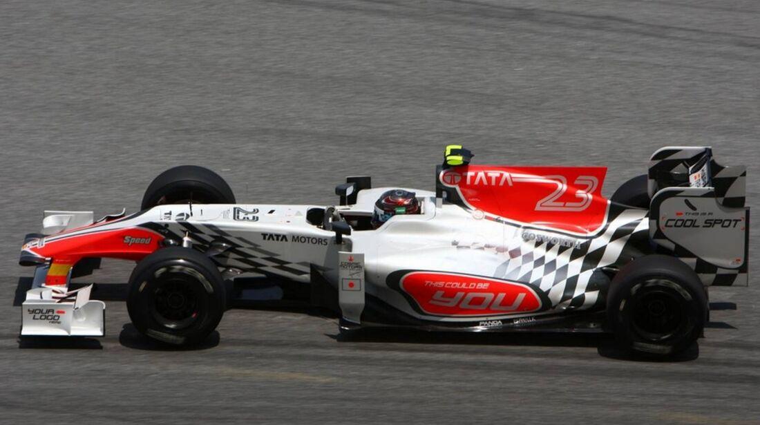 HRT GP Malaysia 2011 Formel 1