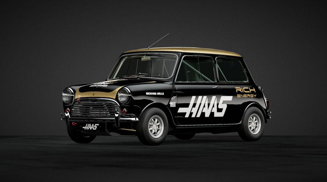 Haas - Mini in F1-Designs - 2019