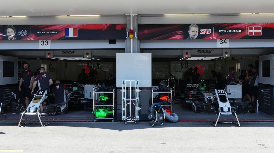 HaasF1 - Formel 1 - GP Aseerbaidschan 2017 - Training - Freitag - 23.6.2017