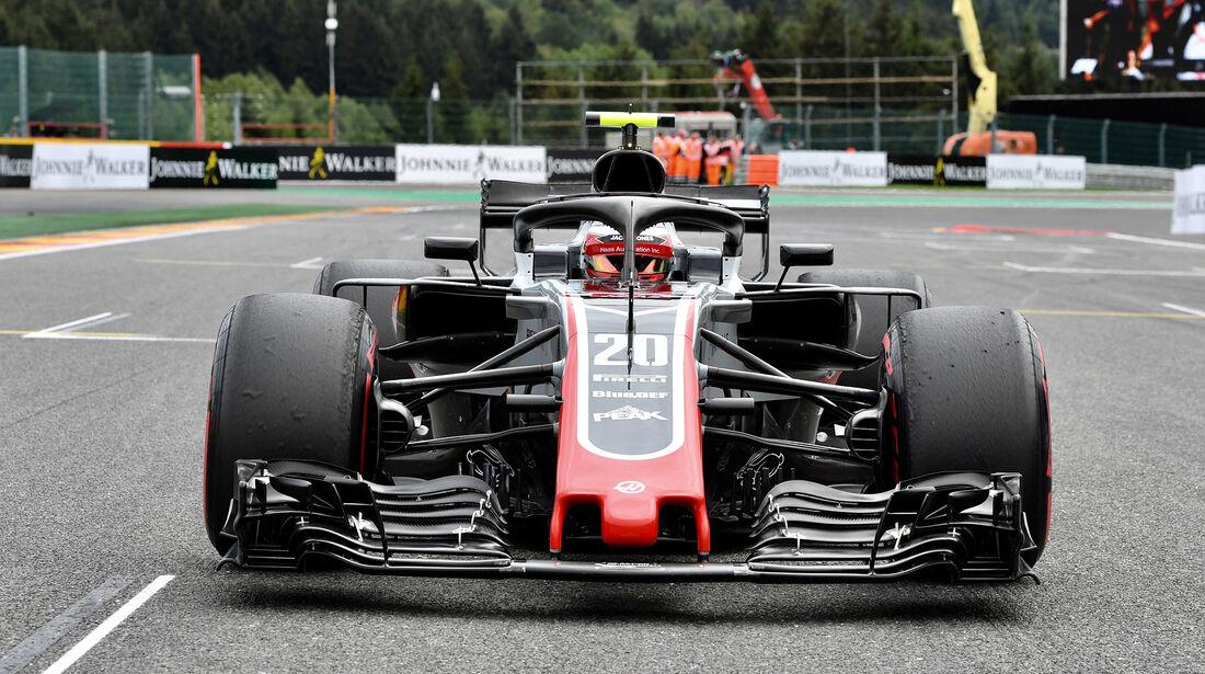 HaasF1 - Formel 1 - GP Belgien 2018