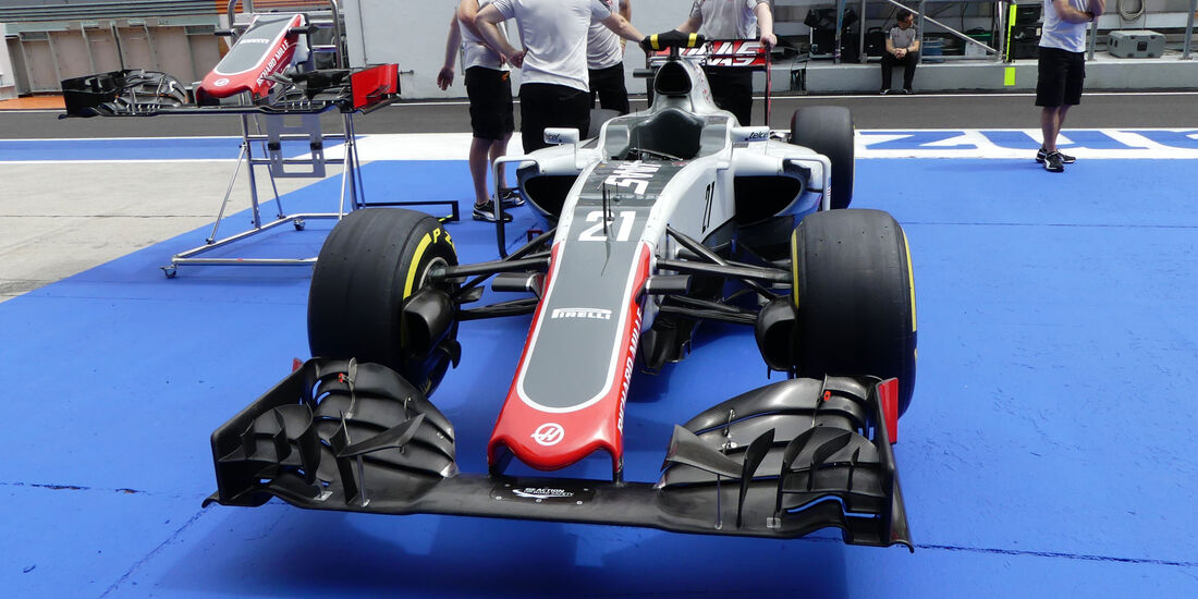 HaasF1 - Formel 1 - GP Malaysia - Donnerstag - 29.9.2016