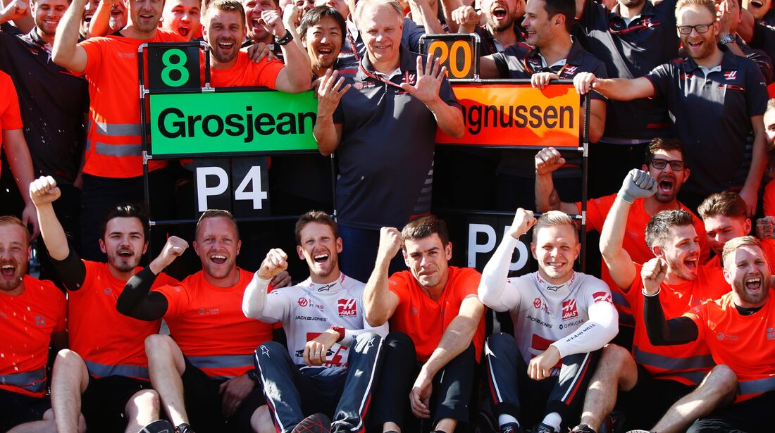 HaasF1 - Formel 1 - GP Österreich - 1. Juli 2018