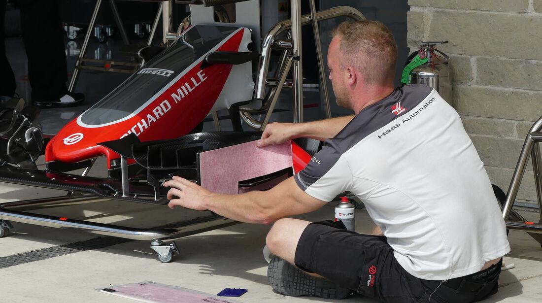 HaasF1 - Formel 1 - GP USA - Austin - 20. Oktober 2016