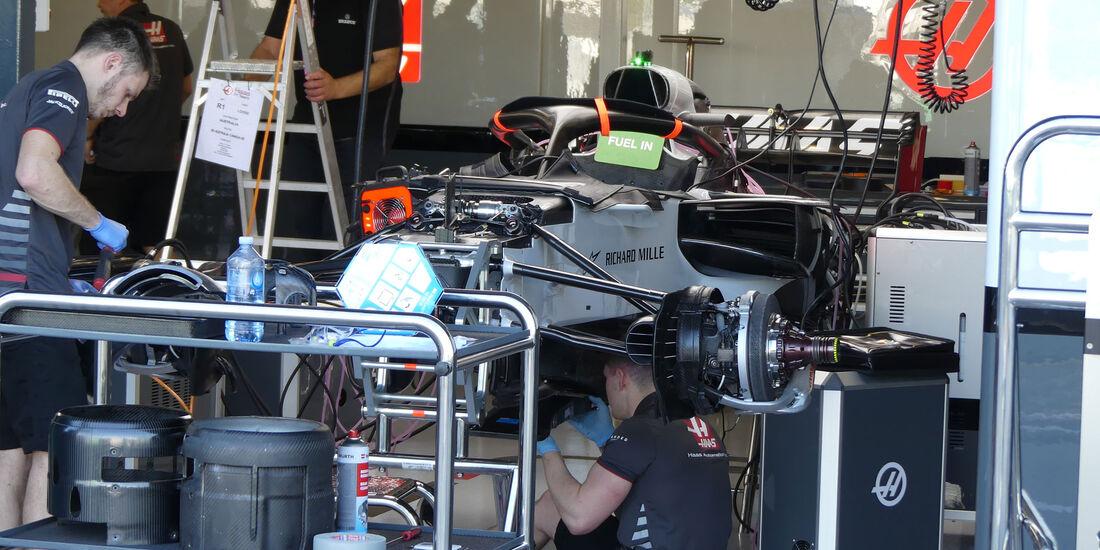HaasF1 - GP Australien 2018 - Melbourne - Albert Park - Donnerstag - 22.3.2018