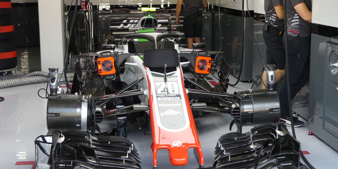 HaasF1 - GP Deutschland - Hockenheim - Formel 1 - Freitag - 20.7.2018