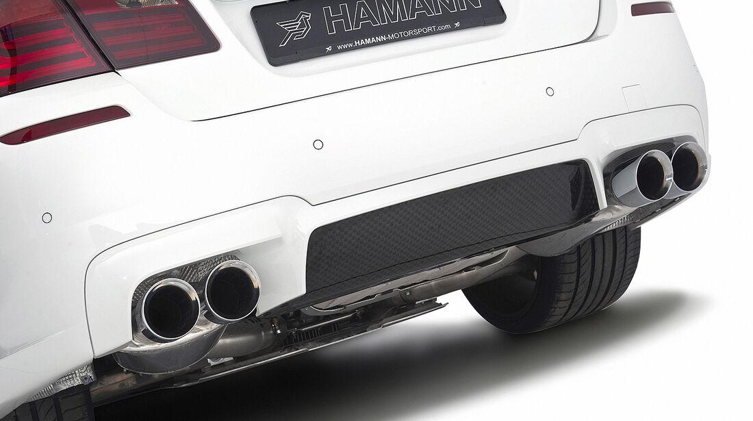 Hamann BMW M5, Auspuff