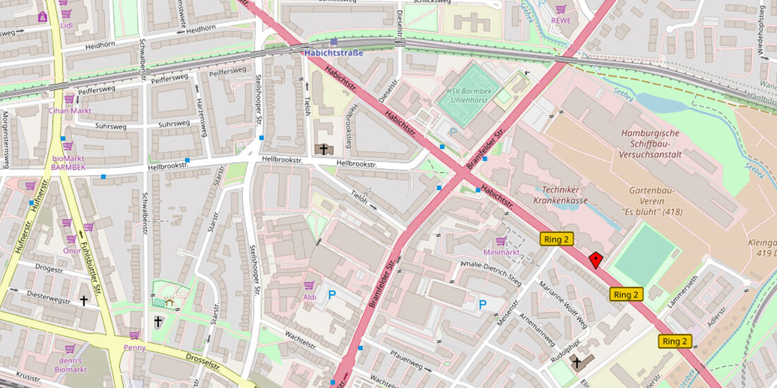 Hamburg Habichtstraße