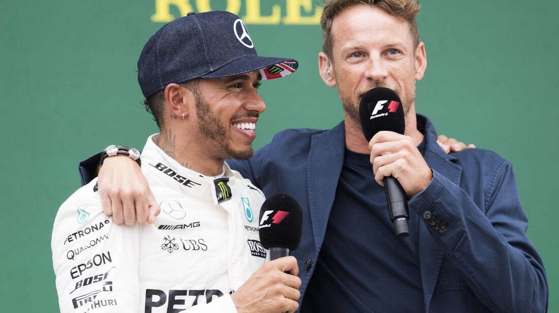Hamilton & Button - GP England 2017