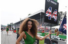Hamilton Grid Girl - GP Italien 2016