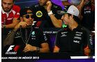 Hamilton & Perez - Formel 1 - GP Mexico - 29. Oktober 2015