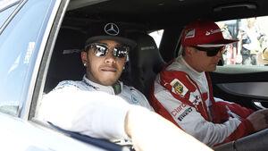Hamilton & Räikkönen - Formel 1 - GP Kanada - Montreal - 6. Juni 2015