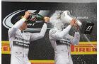 Hamilton & Rosberg - GP Spanien 2014