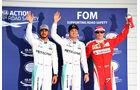Hamilton, Rosberg & Räikkönen - GP Japan 2016