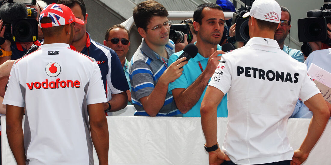 Hamilton & Schumacher - GP Monaco - 23. Mai 2012