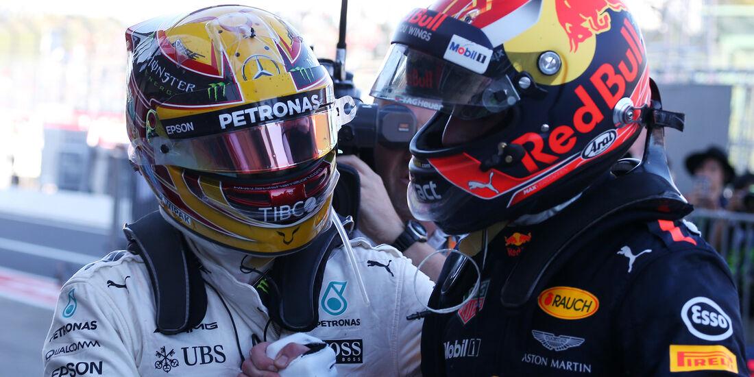 Hamilton & Verstappen - GP Italien 2017