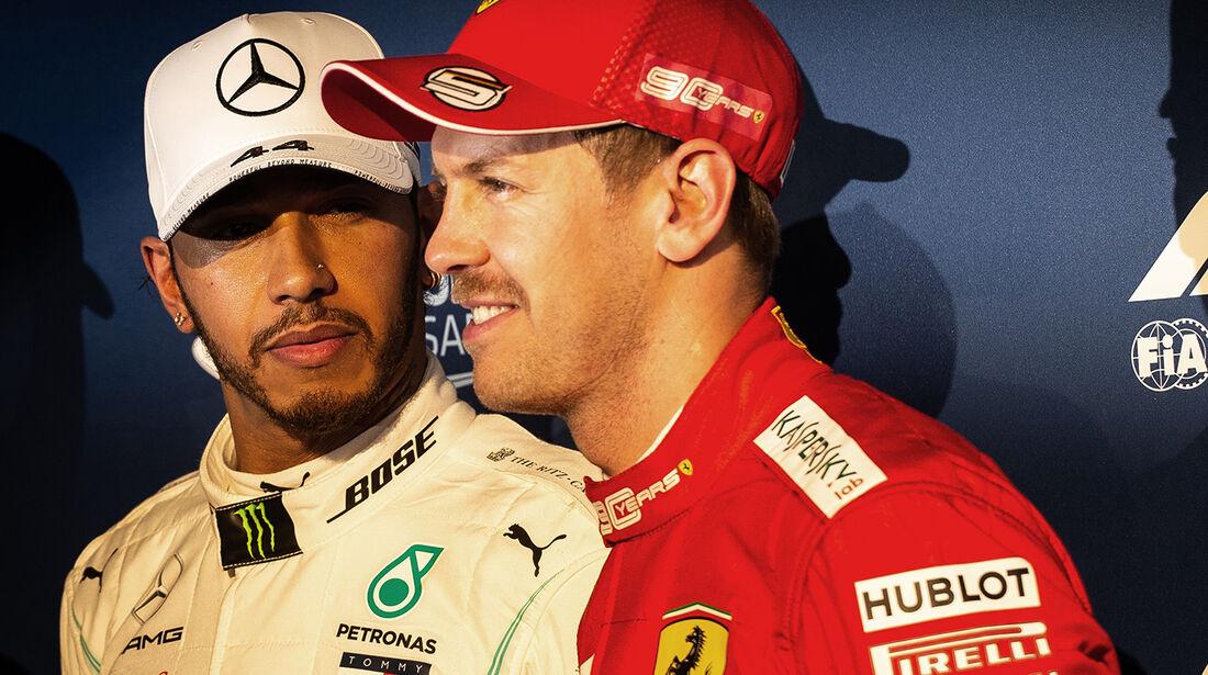 Hamilton & Vettel - Formel 1 - GP Australien 2019