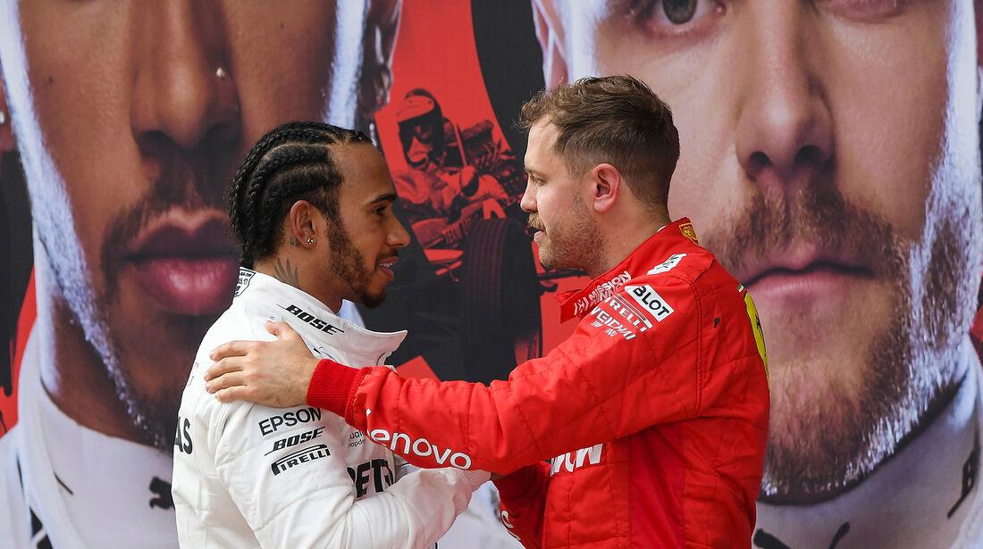 Hamilton & Vettel - GP China 2019