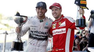 Hamilton & Vettel - GP Japan 2015