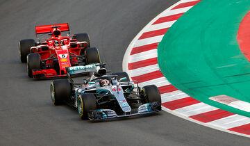 Hamilton & Vettel - GP Spanien 2018