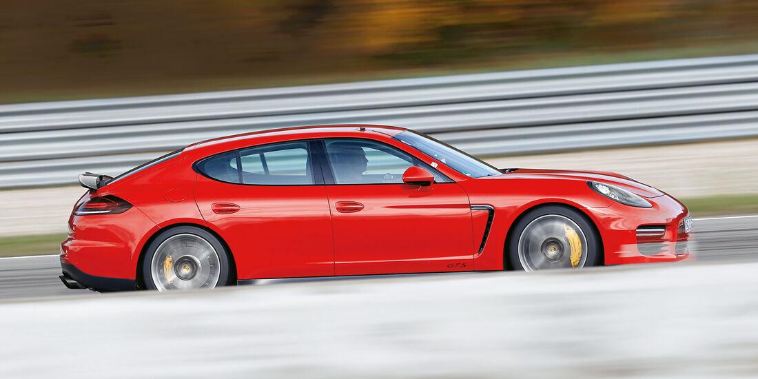 Handling-Check, Porsche Panamera GTS