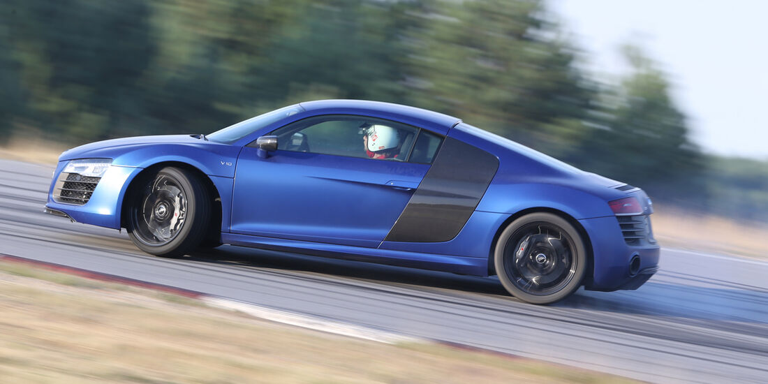 Handlingtest, Audi R8 V10 Plus