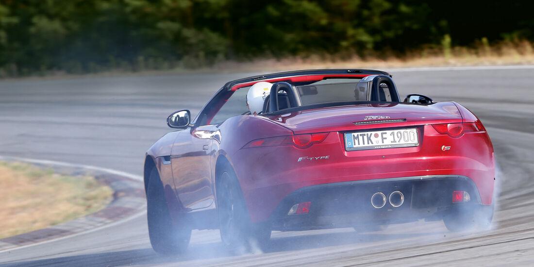 Handlingtest, Jaguar F-Type V6 S