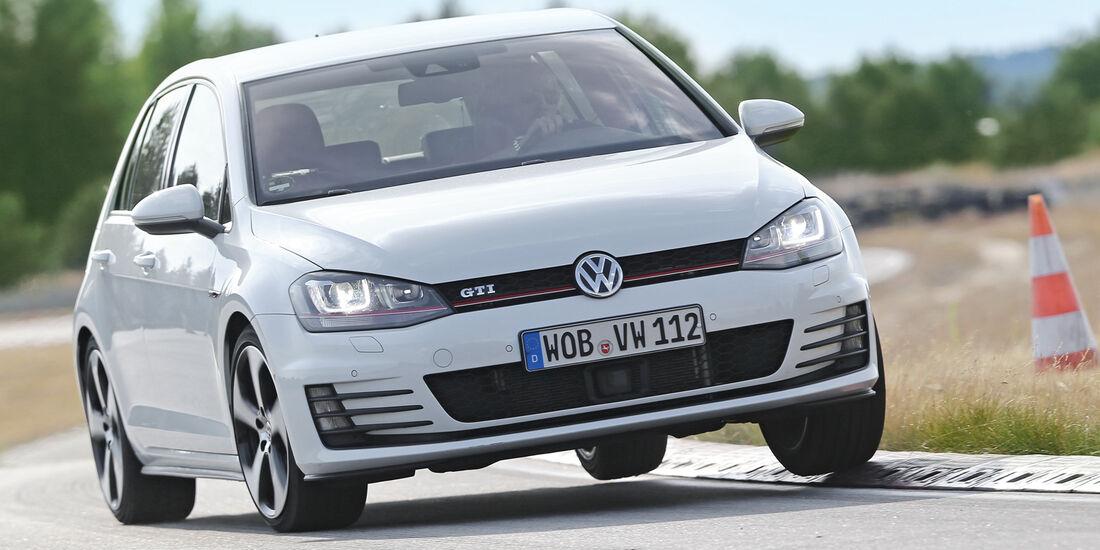 Handlingtest, VW Golf GTI Performance