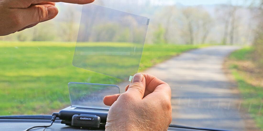 Head-up-Display nachrüsten, Projektion