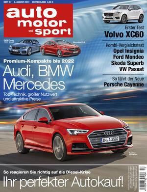 auto motor und sport Heft 17/2017