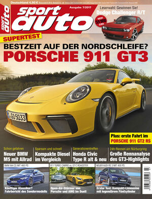 Heftcover - sport auto 7/2017