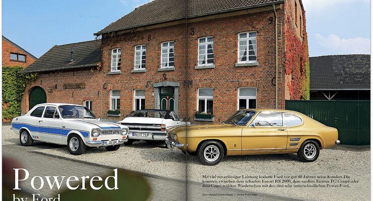Heftinhalt Motor Klassik Ausgabe 11/2014