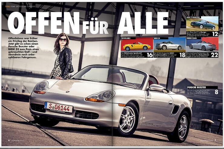 Heftinhalt Youngtimer Ausgabe 03/2015