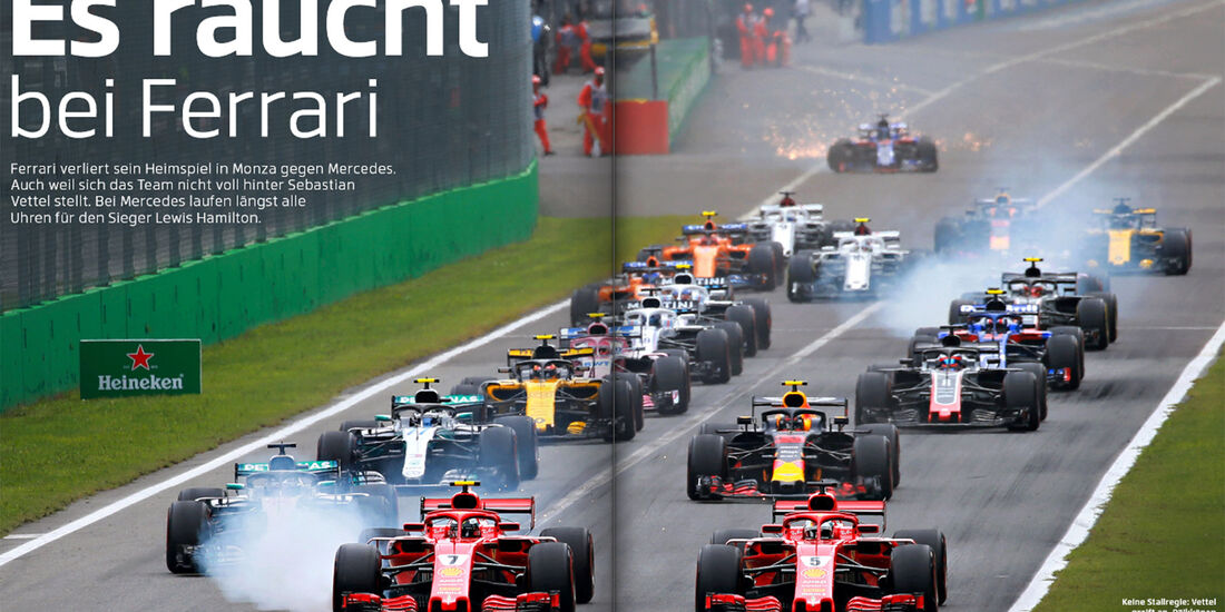 Heftvorschau, F1 GP Italien, ams2018