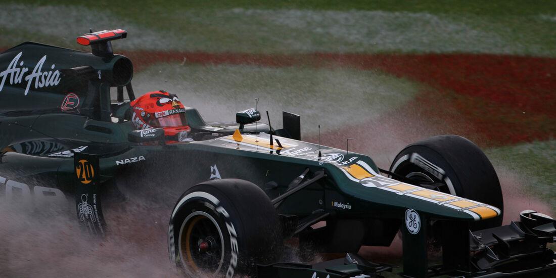 Heikki Kovalainen - Caterham - GP Australien - Melbourne - 16. März 2012