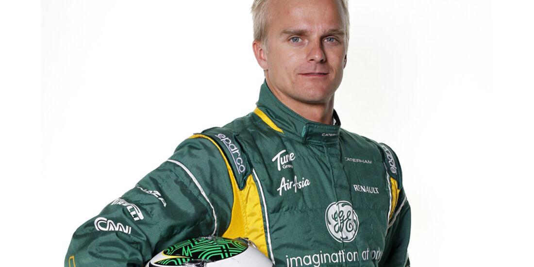 Heikki Kovalainen Porträt 2012