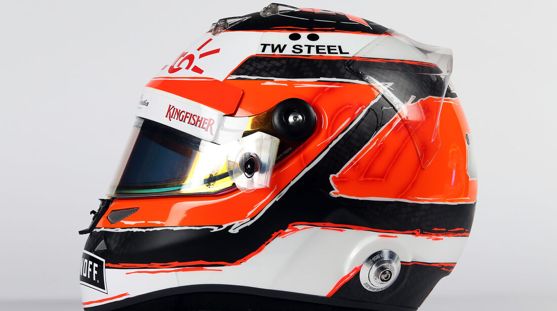Helm - Nico Hülkenberg - Force India - 2015