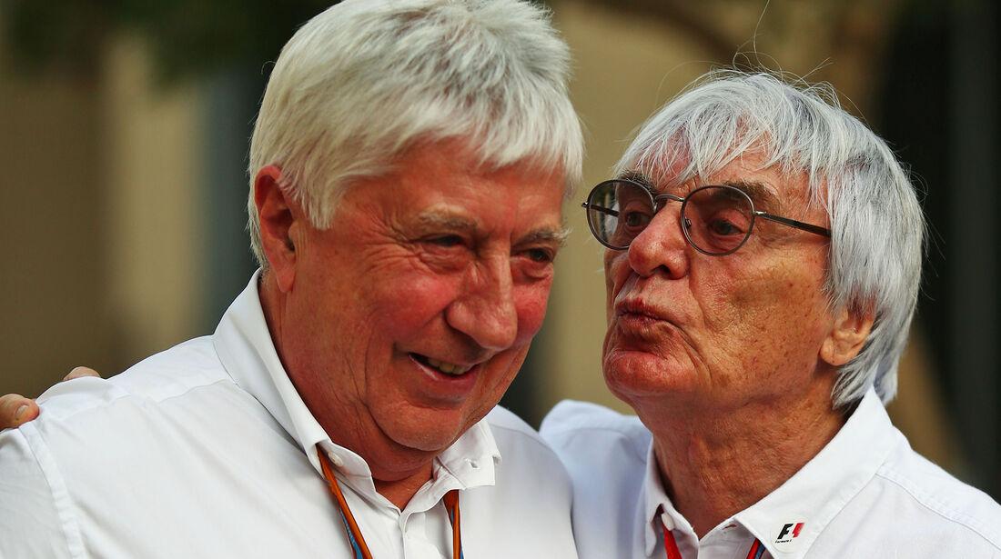Herbie Blash & Bernie Ecclestone - Formel 1 - GP Abu Dhabi - 25. November 2016