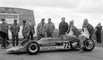 Herbie Blash - Präsentation Lotus72 - 1970