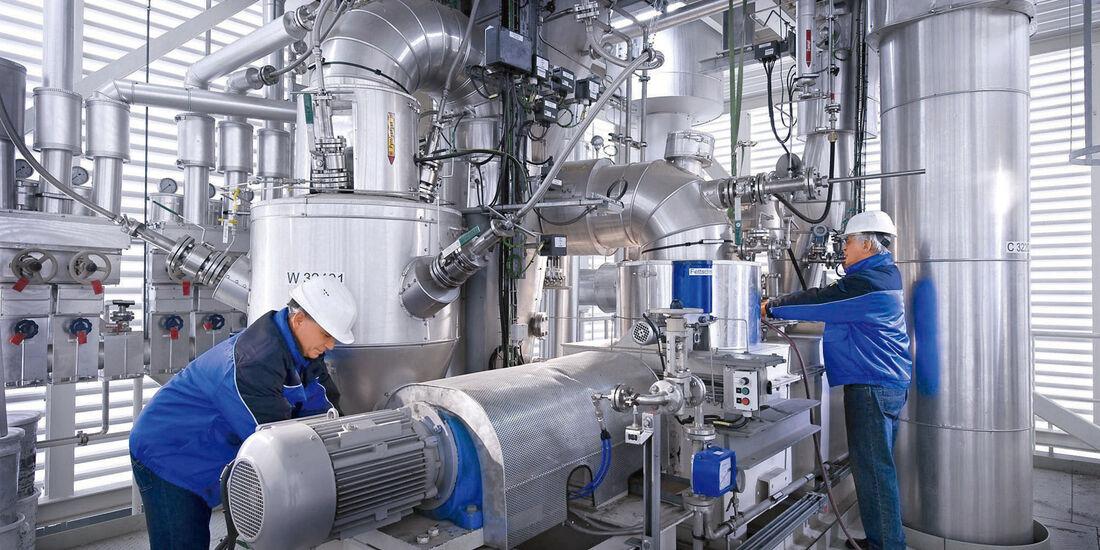 Herstellung Bioliq-Kraftstoff