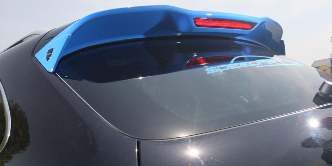 Highspeed-Test, Nardo, ams1511, 391km/h, Speedart Porsche Cayenne Turbo, Spoiler