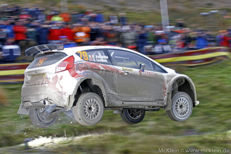 Hirvonen - Rallye Großbritannien 2013
